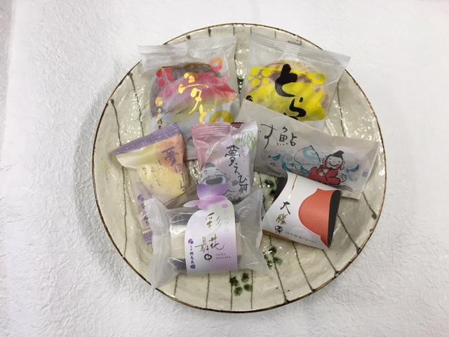 和菓子の日焼き菓子セット